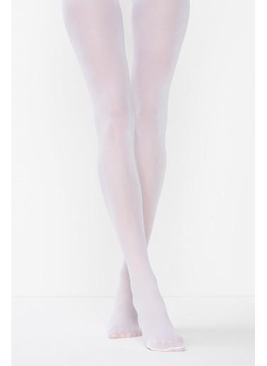 Penti Mikro 40 Külotlu Çorap Beyaz